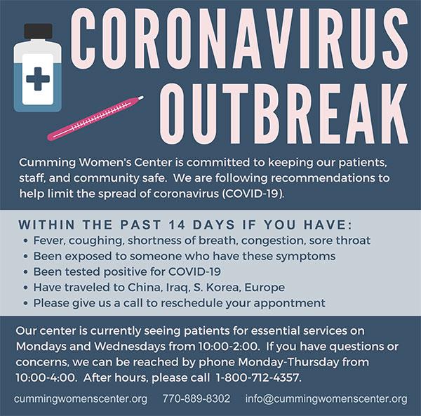 Corona Virus & Pregnancy Testing